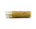 Coconut vegan beauty skin brown label Lip balm and chapstick clear lip tube