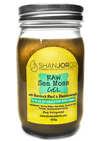 Burdock Root & Bladderwrack Sea Moss Gel (626g)