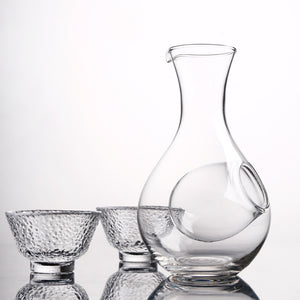 Glass Ice Wine Decanter for Entertaining