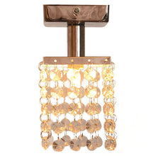 Load image into Gallery viewer, Mini Crystal Chandeliers with Solid Fixture