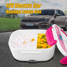 Load image into Gallery viewer, *12V Car* Portable Electric Heating Lunch Box Perfect for Truckers/Long Drives