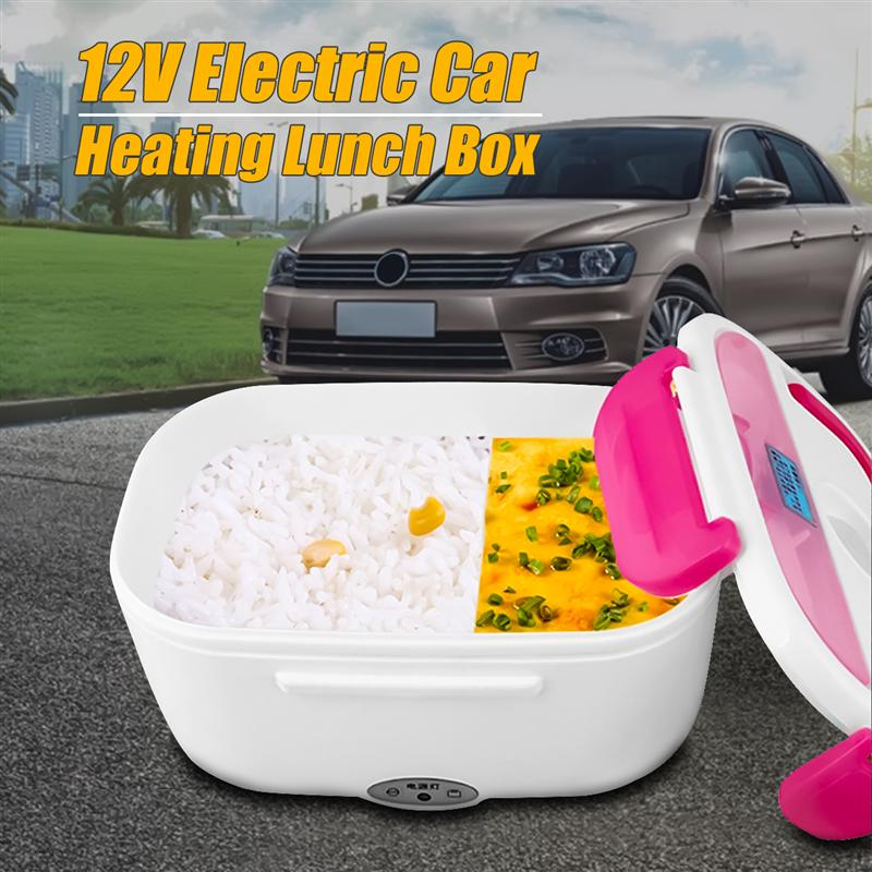 *12V Car* Portable Electric Heating Lunch Box Perfect for Truckers/Long Drives