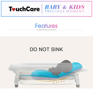 NO SINK Floating Bathtub SAFETY Seat for Infant Bathing