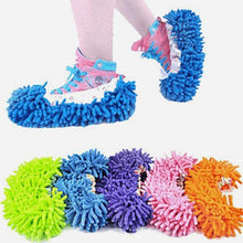 Load image into Gallery viewer, Microfiber Cleaning Mop Slippers (FOR KIDS)