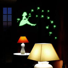 Load image into Gallery viewer, Luminous Girl Wall Stickers