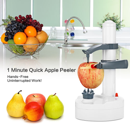 Multifunction Stainless Steel Electric Automatic Fruit, Vegetable Peeler
