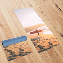 Load image into Gallery viewer, Australia Sunset *NATURAL ORGANIC* Surfboard Yoga Smart Mat