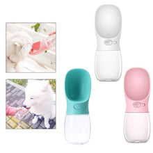 Load image into Gallery viewer, 350ML Improved Leakproof Portable Travel Pet Water Bottle (Multi-Colors)