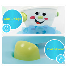Load image into Gallery viewer, Happy Face *Splash Proof* environmental protection Potty Seat for Happy Toddlers