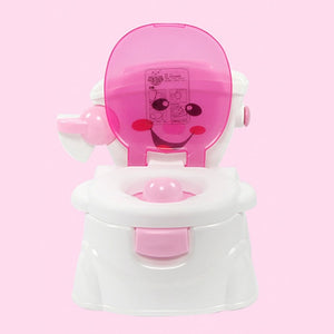 Happy Face *Splash Proof* environmental protection Potty Seat for Happy Toddlers