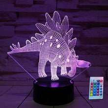 "Load image into Gallery viewer, 3D Animals LED Night Light With Remote Control for Kids ""Limited Stock"""
