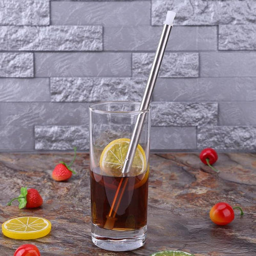 2018 Foldable Stainless Steel *PERSONAL* Reusable Portable Straw LOW SHIPPING COST