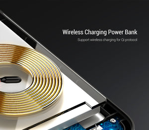 Portable Wireless Charger Power Bank Case for iPhone X/XS