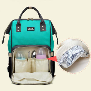 Fashion Nappy Baby Care Diaper Backpack