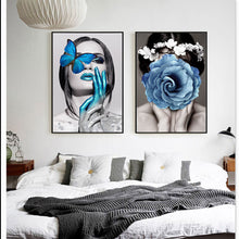 Load image into Gallery viewer, Abstract Wall Art Fashion Pictures