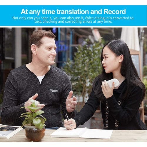 Portable Smart Multi-language Voice Translator Device 35 Languages