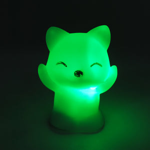7 Changing Colors LED FOX Night Light for Kids 100,00hr Light Life ($1 SHIPPING)