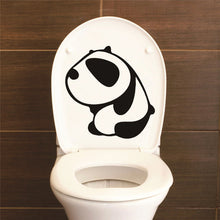 Load image into Gallery viewer, Funny Smile Bathroom Wall/Toilet Stickers