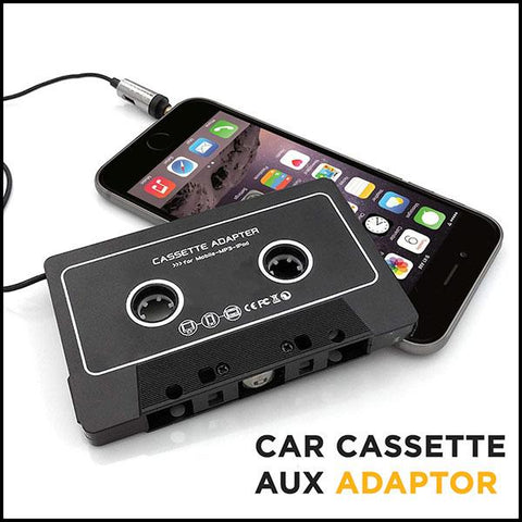 Car Audio Cassette Adapter