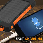 30,000mAh Solar Charging Power Bank