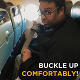 Adjustable Airplane Seatbelt Extender