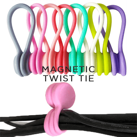 Magnetic Twist Ties (3 PCS)