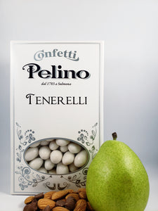 Confetti Tenerelli Milk Chocolate Almond - Pear Flavored - 500 g