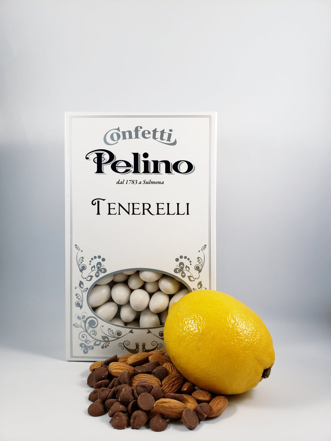 Confetti Tenerelli Milk Chocolate Almond - Lemon Flavored - 500 g