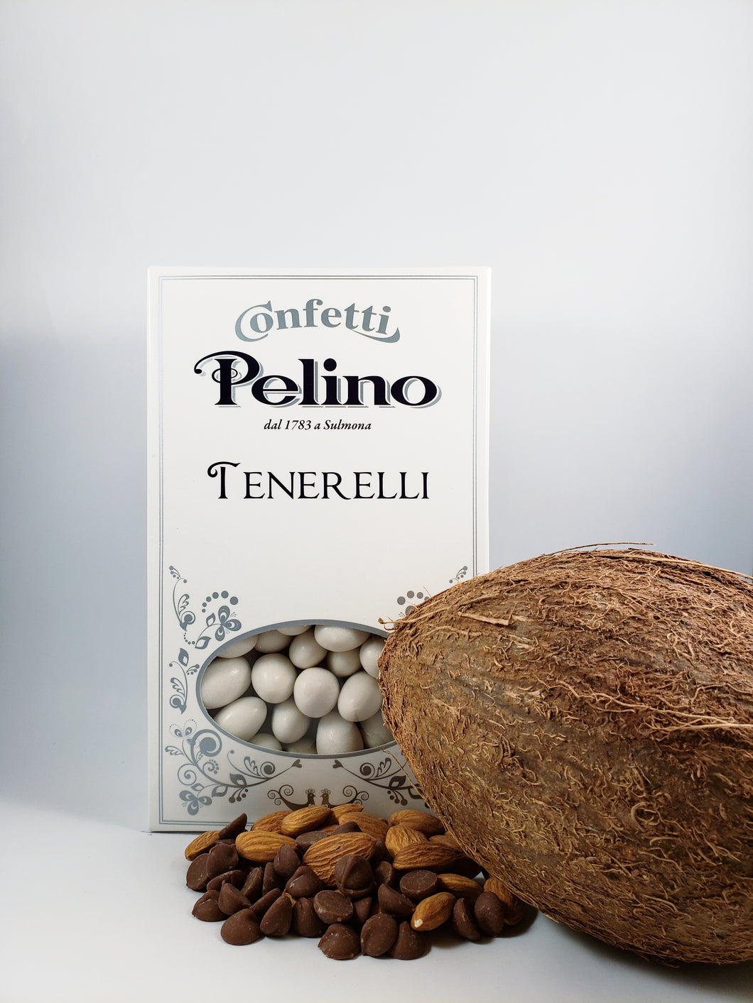 Confetti Tenerelli Milk Chocolate Almond - Coconut Flavored - 500 g
