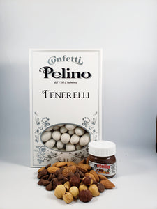 Confetti Tenerelli Milk Chocolate Almond - Hazelnut (Gianduja) Flavored - 500 g