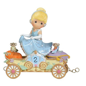 "Precious Moments® Disney ""Bibbidi, Bobbidi, Boo—Now You're Two!"" Cinderella Figurine, Age 2"