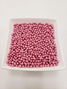 Pink Dragees 4mm - 1 lbs