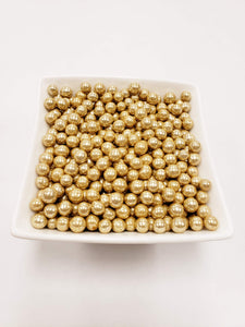 Gold Dragees 7mm - 1 lbs