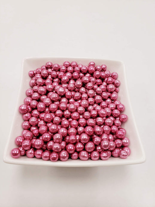 Pink Dragees 7mm - 1 lbs