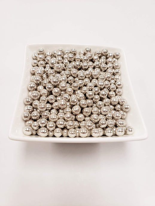 Silver Dragees 7mm - 1 lbs