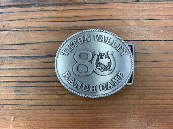 TVRC 80th Anniversary Belt Buckle