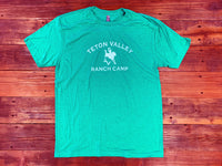 Triblend T-Shirt - Women's (Green/White)