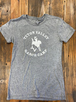 Triblend T-Shirt - Women's (Gray/White)