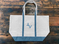 TVRC Brand Canvas Tote Bag- Extra Large