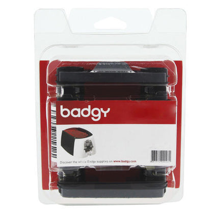 Print up to 500 high quality black documents on your Badgy 100 and Badgy 200 printers with the Badgy monochrome ribbon