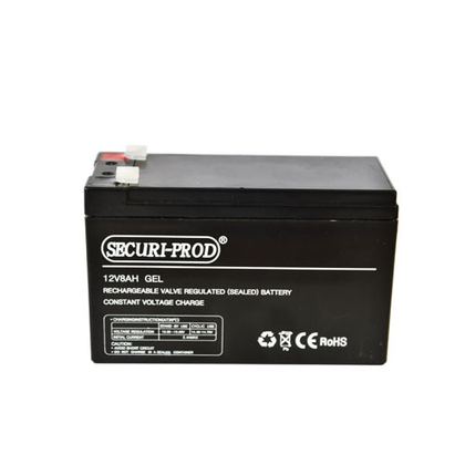 Backup Battery, 12V 8Ah, Gel..For Use in Power Stores and Gate Motors