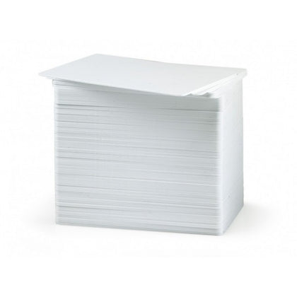High quality white printable cards.