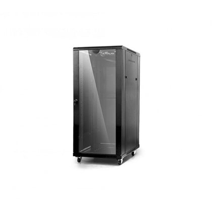 This free standing, Linkbasic network cabinet is manufactured with high strength steel and has 4 fans and 2 shelves