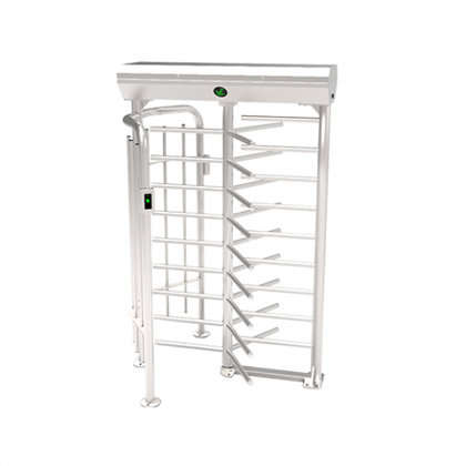 full height entrance control turnstile FHT2300 side view