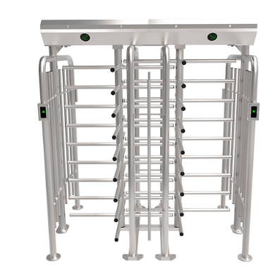FHT2400D-Standard Four Arm Full Height Double Turnstile