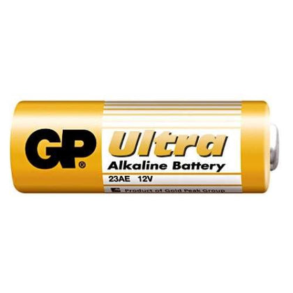 Ultra alkaline battery for use in remotes. 12V, LR23A / GP 23A