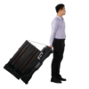 PD-300-Portable walk through metal detector