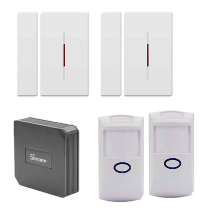 Window and door sensor set
