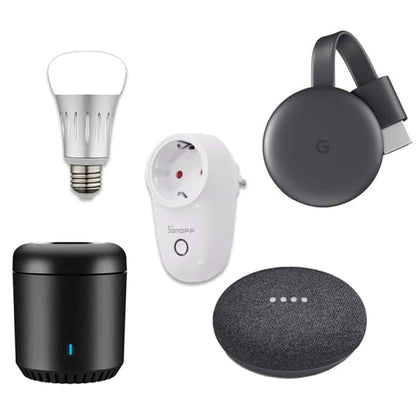Smart plug and play set