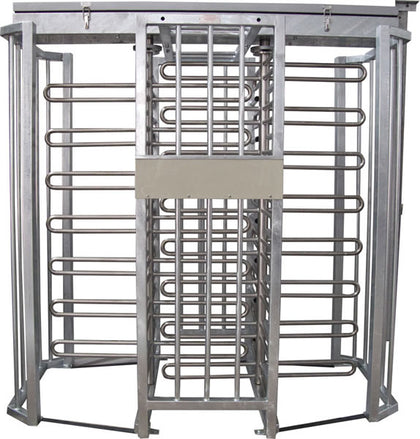 AutoGate Bi-directional free standing full height Double Turnstile Access control